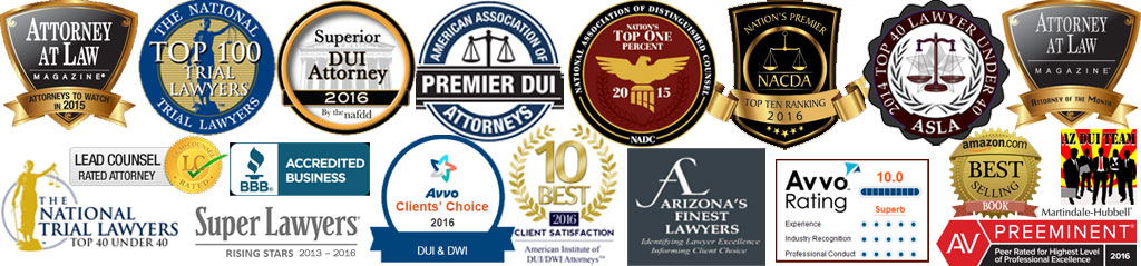 DUI Defense Lawyer Brian Sloan Honors and Awards